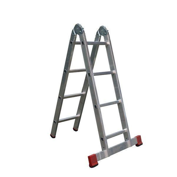 ALVE Scara articulata FORTE PLUS din doua tronsoane - 2x4 trepte 4204