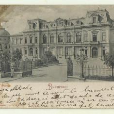 cp Bucuresti : Palatul Regal - circulata 1904, timbru
