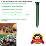 Aparat anti cartita, ultrasunete,vibratie,acoperire 1000 m2,cu baterii, Anti-rozatoare, Perel