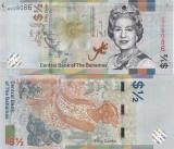 Bahamas 1/2 Dollars 2019 UNC