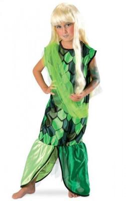 Costum pentru serbare Sirena 128 cm foto