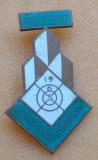Insigna MAIESTRIE - Campionat European de tir 1965