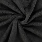 Patura ,150 x 200 cm, 280g/m², 30 °C, poliester, negru