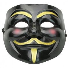 Masca Guy Fawkes negru