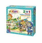 Cumpara ieftin Colectie de Jocuri Pentru Copii 2 in 1 60808, D-Toys