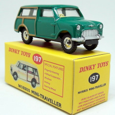 Macheta Morris Mini Traveller - Dinky Toys