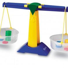 Balanta Junior Learning Resources, 5 greutati de 5 g si 10 g, 500 ml lichid, 5 - 11 ani