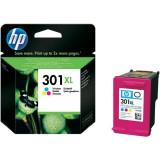 Cartus cerneala original HP 301XL CH564EE, Color