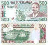 1991 (27 IV), 500 leones (P-19) - Sierra Leone - stare UNC!