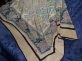 Esarfa batic, Aker, Multicolor, Matase