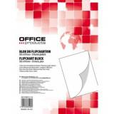 Hartie Flipchart OFFICE Products Velina, Dimensiune 58.5x81 cm, 50 Coli/Set, Rezerva Foi Flipchart, Instrumente de Prezentare