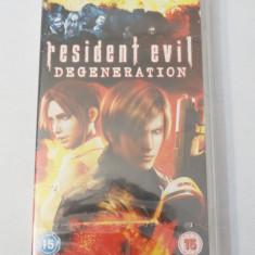 Film UMD Sony PSP Playstation - Resident Evil Degeneration - sigilat