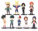 Set figurina My Hero Academia Midoriya All Might Bakugo Shoto 8 cm