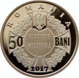 Moneda 50 bani 2017 PROOF - Eroina de la  Mărășești  Ecaterina Teodoroiu