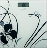 Cantar electronic de persoane Daewoo DBS210W, Capacitate 150 kg, Auto zero, Auto oprire, LCD, Albastru