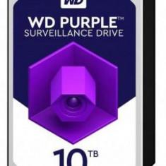 HDD Western Digital Purple, 10TB, SATA III 600, 256MB Buffer - dedicat sistemelor de supraveghere