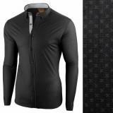 Camasa pentru barbati negru flex fit Lumieres du Soir