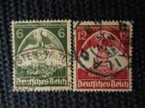 REICH-CONGRESUL PARTIDULUI NAZIST -SERIE  COMPLETA-STAMPILATE