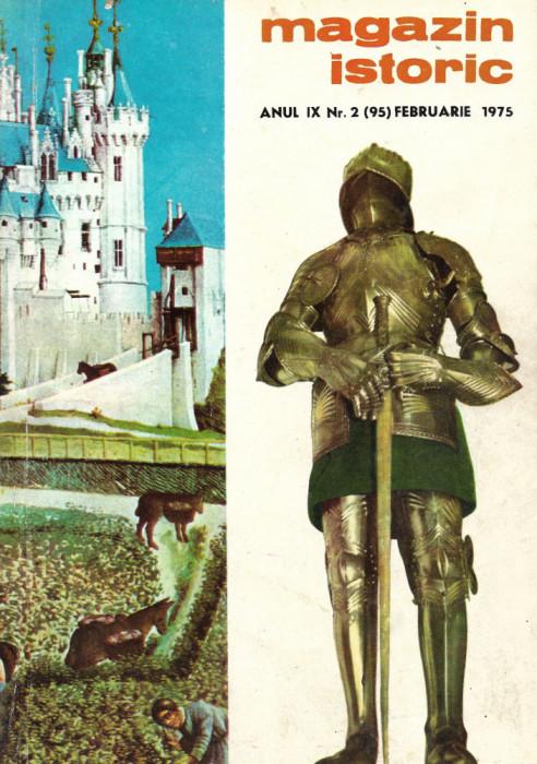 Magazin Istoric - anul 9 - nr. 2 (95) - februarie 1975 (C203)