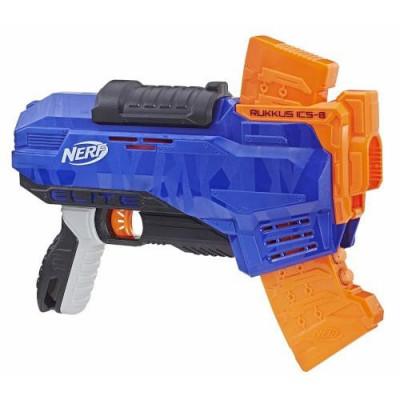 Blaster Nerf N-Strike Elite Rukkus Ics-8 foto
