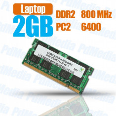 Memorie laptop Samsung 2GB DDR2 Sodimm 800 Mhz PC2 6400 m470t566eh3