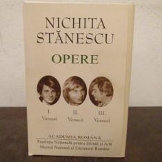 Nichita Stanescu - Opere 1,2,3 ( ed. de lux, Academia Romana, 3vol.)