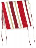 Husa spatar scaun Heinner HR-CHCOV-RED01, Bumbac, 47 x 100 cm, model Dungi Rosii (Alb/Rosu)