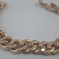 Bratara dama,dublu placata aur 18K