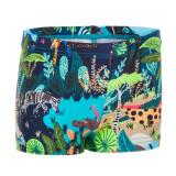 Boxeri înot imprimeu multicolor Bebe/Băieți, Nabaiji