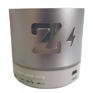 Boxa Portabila iUni DF15, BT, Slot Card, Radio, Aluminiu, Argintiu