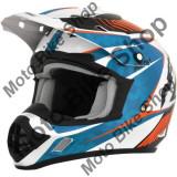 MBS Casca motocross AFX FX-17 Factor, XL, albastru/alb/portocaliu, Cod Produs: 01104550PE