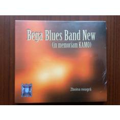 bega blues band new zboina neagra in memoriam kamo cd disc muzica jazz blues nou