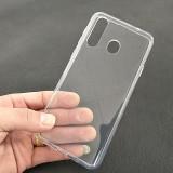 Husa gel TPU transparenta pentru Samsung Galaxy A8S