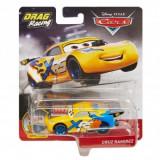 Disney Cars XRS - masinuta metalica de curse personajul Cruz Ramirez, Mattel