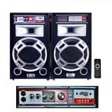 Boxe Portabile cu Radio FM, USB, SD si Telecomanda Ailiang USBFM6112/2