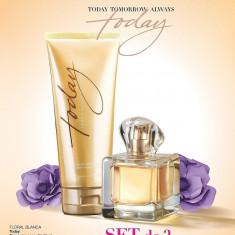 Apa de parfum Today  + Lotiune de corp 150 ml AVON