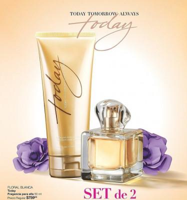 Apa de parfum Today  + Lotiune de corp 150 ml AVON foto