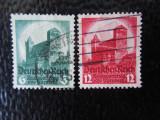 timbre deutsches reich -CONGRESUL PARTIDULUI NAZIST-SERIE  COMPLETA-STAMPILATE