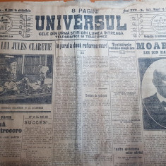 ziarul universul 13 decembrie 1913 - moartea lui ion kalinderu