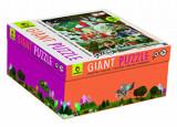 Puzzle Gigant - Castelul magic, 48 piese