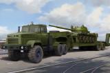 Cumpara ieftin Ukraine KrAZ-6446 Tractor with MAZ/ChMZAP-5247G semitrailer 1:35
