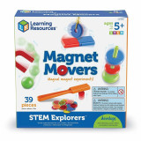 Set constructie STEM - Magie cu magneti, Learning Resources