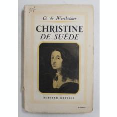 CHRISTINE DE SUEDE par O. de WERTHEIMER 1937