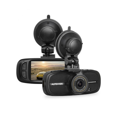 "Camera Auto DVR AutoVox D2 PRO 1080p Panasonic NTK 96650 Display Super LTPS 2,7"" foto"