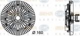 Vascocuplaj / Cupla ventilator radiator BMW Seria 7 (E65, E66, E67) (2001 - 2009) HELLA 8MV 376 732-041