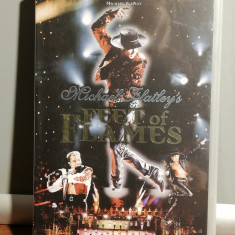caseta VHS Originala cu M.Flatley - Feet of Flames (1999/CBS/GERMANY) - ca Noua