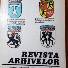 Revista arhivelor ianuarie-februarie-martie 1986