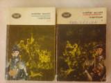 Ivanhoe - WALTER SCOTT , 2 volume , editie 1970