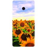 Husa silicon pentru Xiaomi Mi Mix 2, Sunflowers