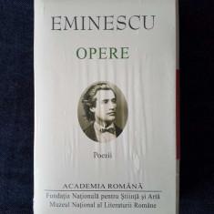 Mihai Eminescu – Opere. Poezii  (ed. lux, Academia Romana)